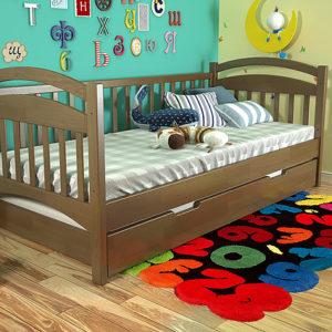3-Дитяче-ліжко-Аліса-горіх-ARBOR-DREV