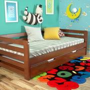 3-Дитяче-ліжко-Немо-з-висувною-шуфляжою-яблуня-локарно-ARBOR-DREV