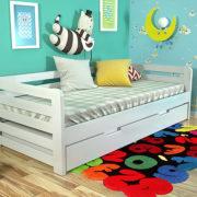 6-Дитяче-ліжко-Немо-з-висувною-шуфляжою-білий-ARBOR-DREV