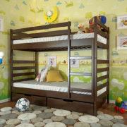 Ліжко-Ріо-горіх-темний-ARBOR-DREV