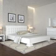 ARBORDREV-ліжко-Монако-білий-