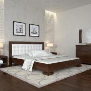 ARBORDREV-ліжко-Монако-горіх-темний